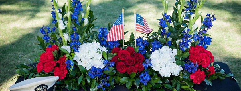 Veteran Floral Arrangements