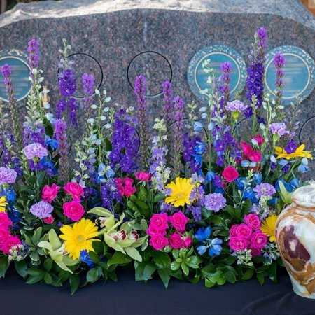 Urns Flower Arrangement