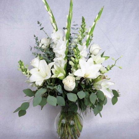 AFX Sympathy Flowers Alluring Elegance Floral Arrangement
